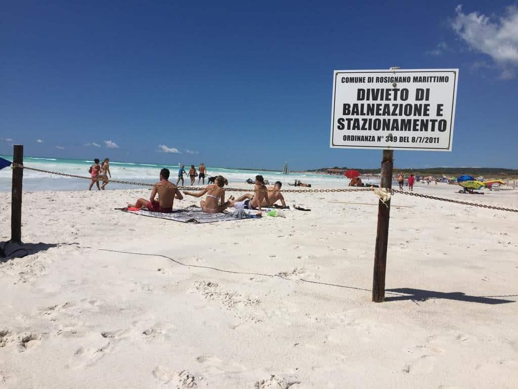 Rosignano Marittimo beach
