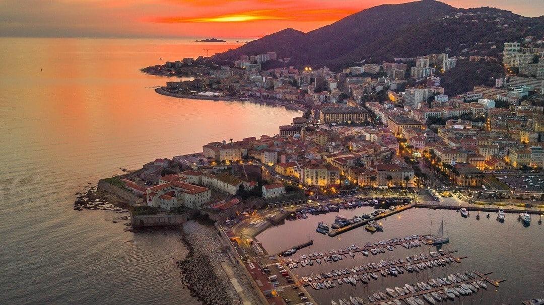 Ajaccio, the mark of Corsica