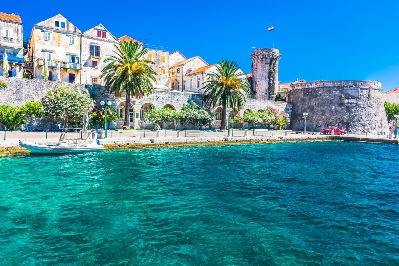 Itinerary Day 10: set sail from Korcula to Mljet, Croatia