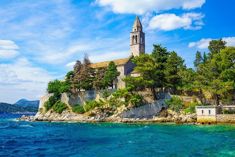Itinerary Day 13: sail from Lopud to Dubrovnik,Croatia