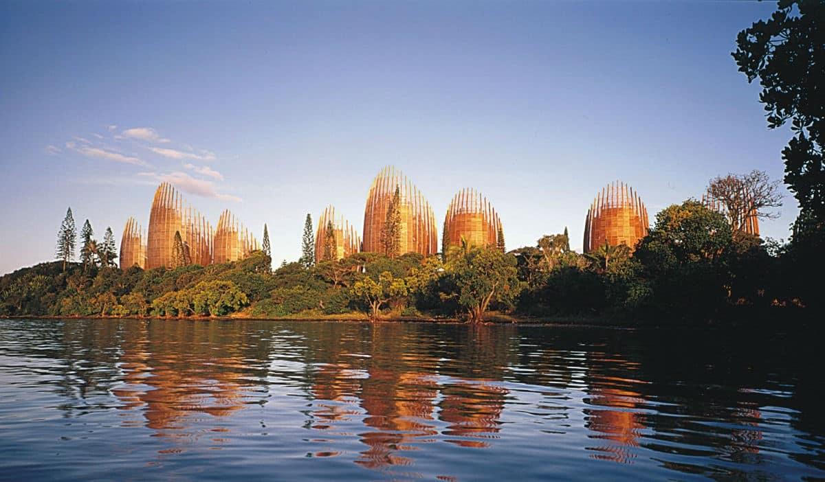 beautiful bankside of Noumea – Ouen Island in New Caledonia