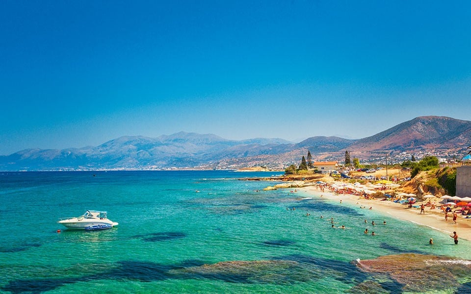 explore Crete beaches