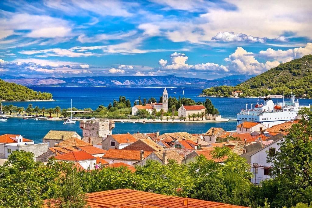 Komiza to Vis Island Croatia