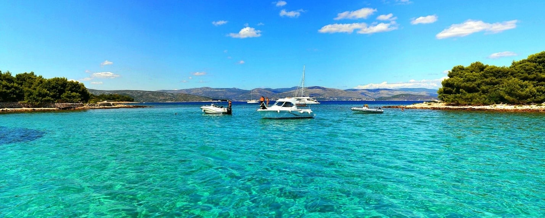 Maslinica to Split Croatia