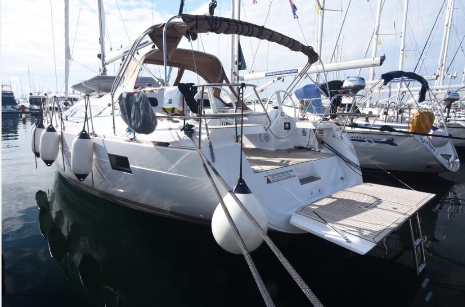 Elan Impression 45 docked in Croatia