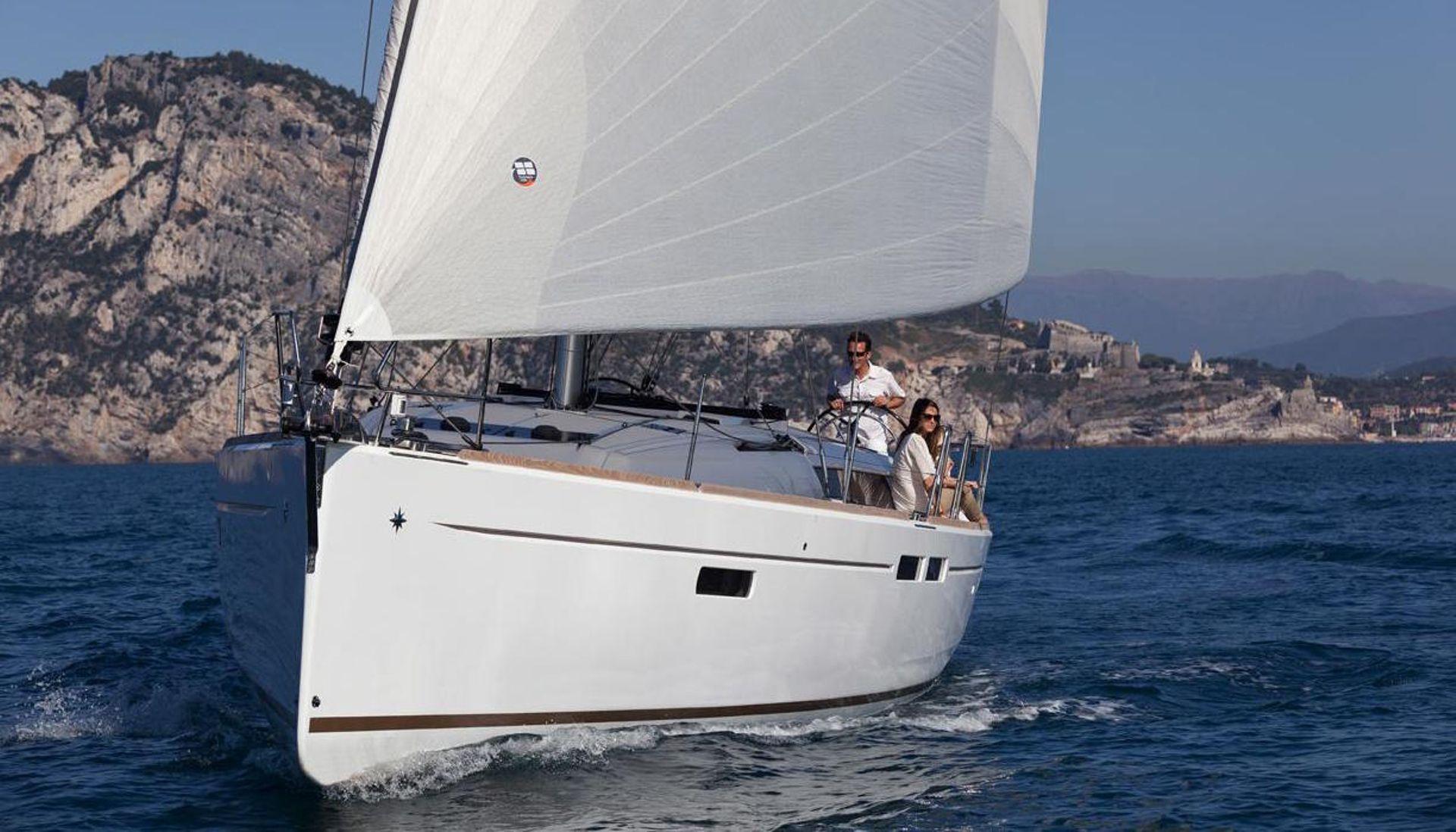 Sun Odyssey 479 sailing in Malaysia