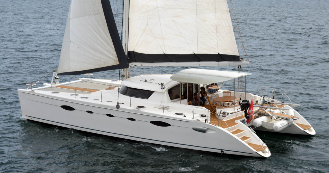 Eleuthera 60 sailing