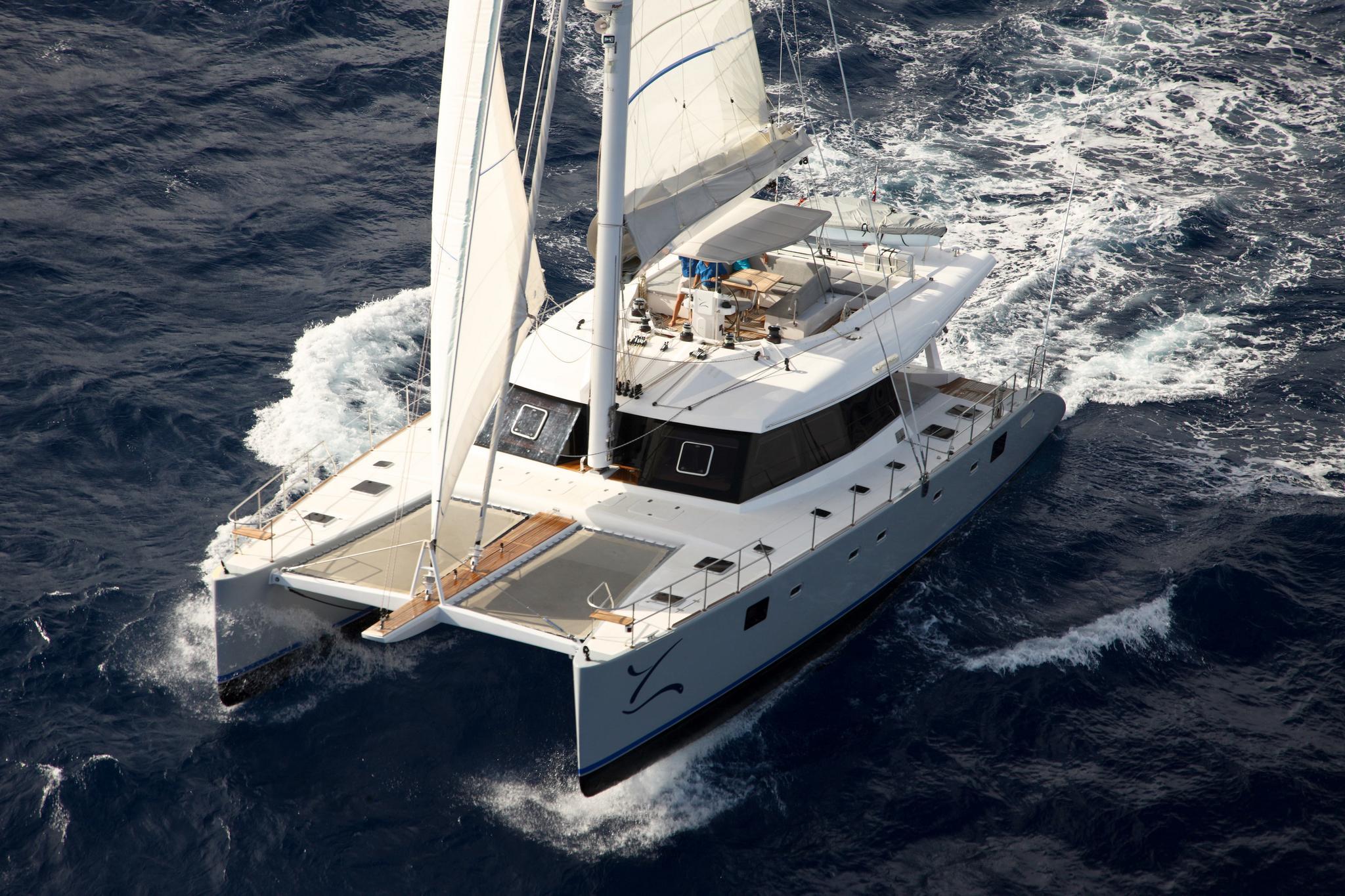 Sunreef 60 sailing