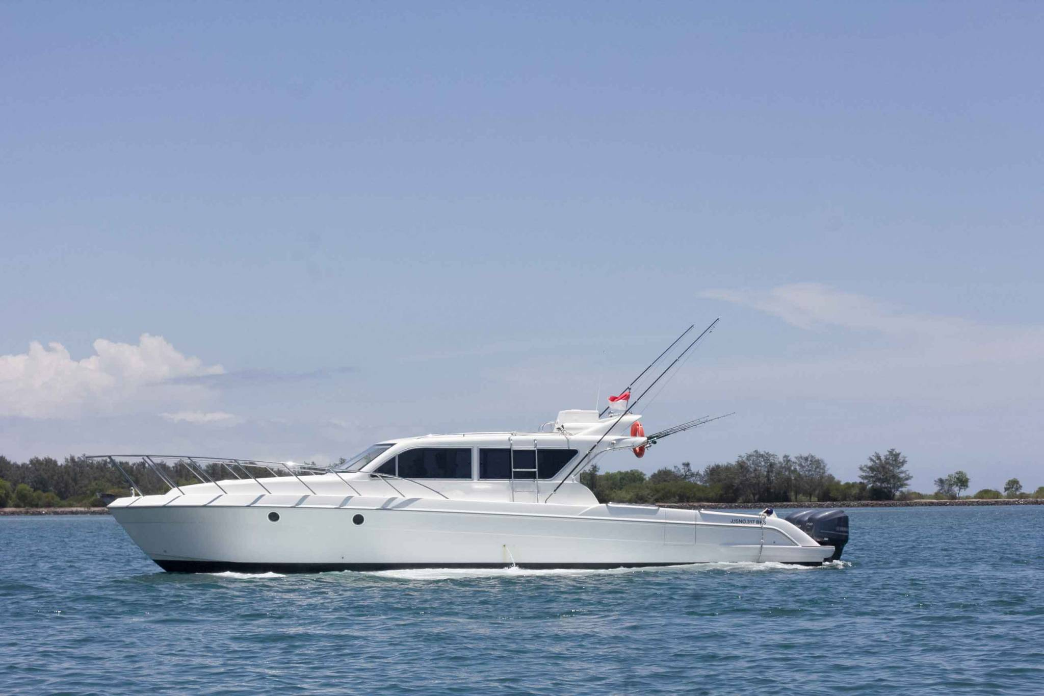 Blue Marlin 2 sailing in Indonesia