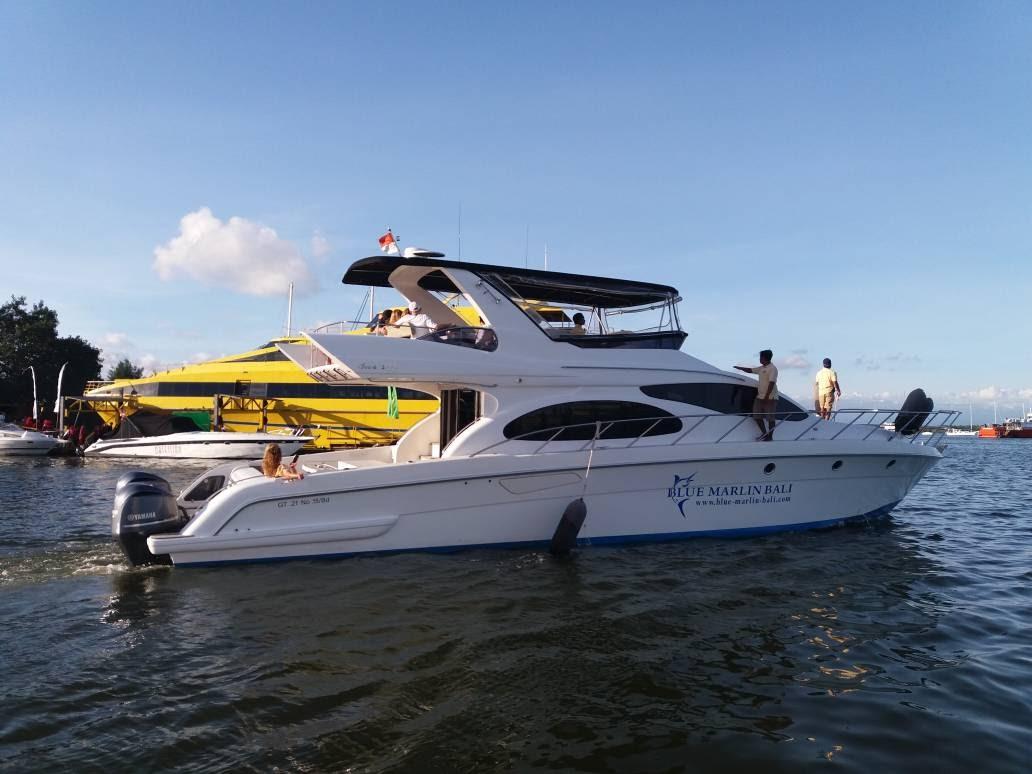 Accura 55 docked