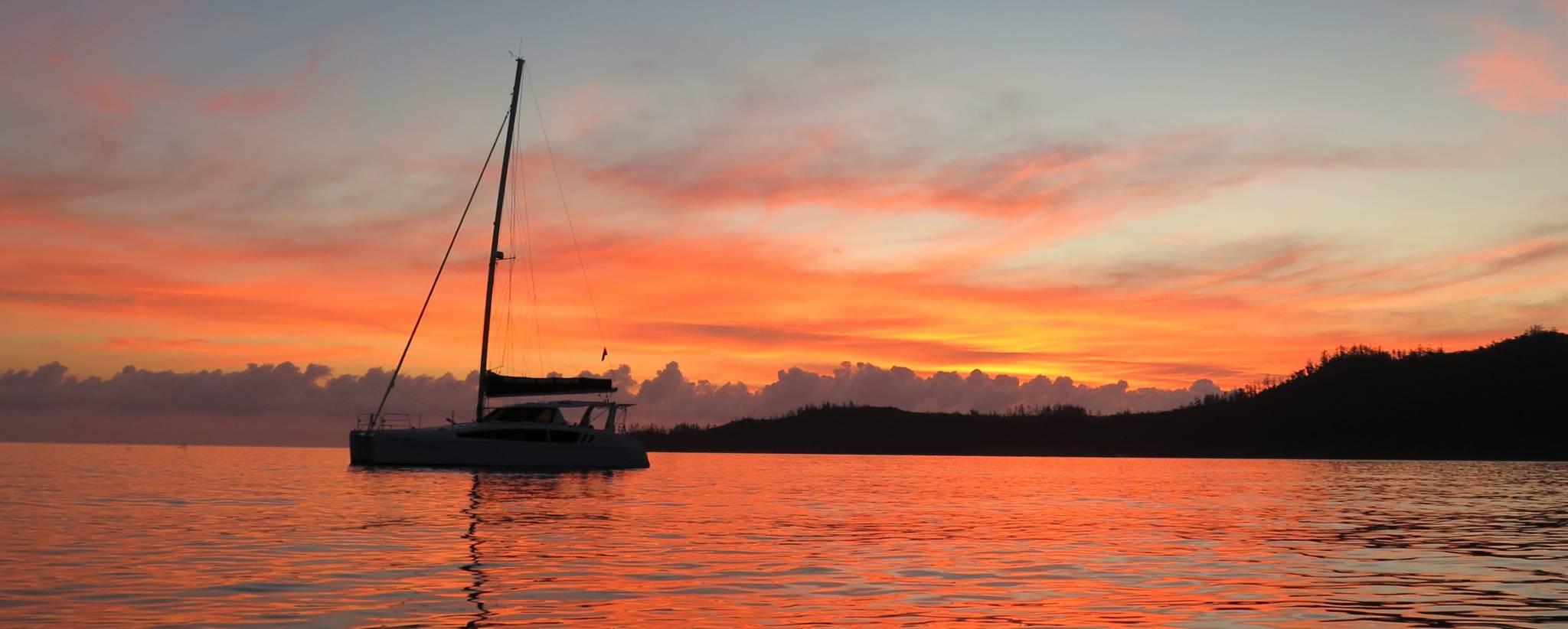 Seawind 1260 sunset sasil