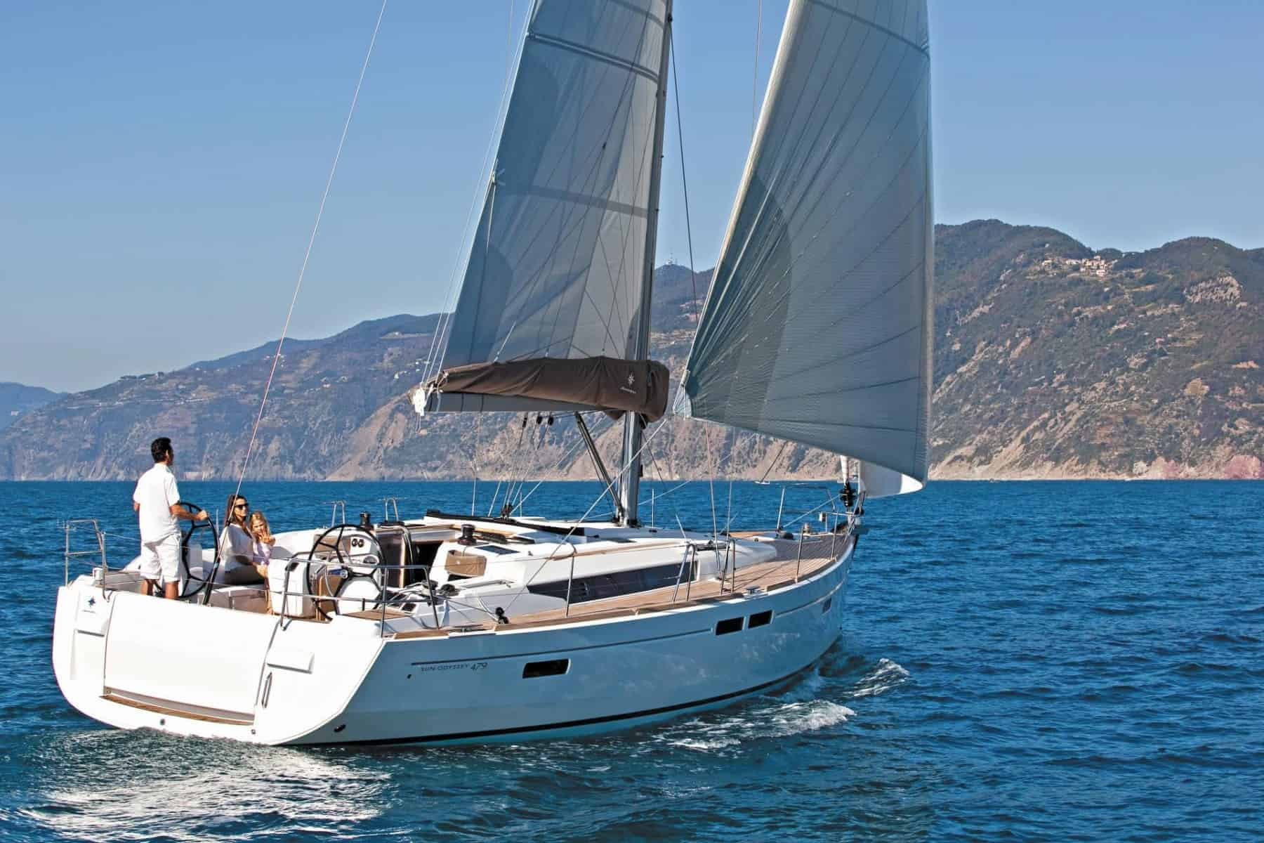 Sun Odyssey 479 cruise in Malaysia