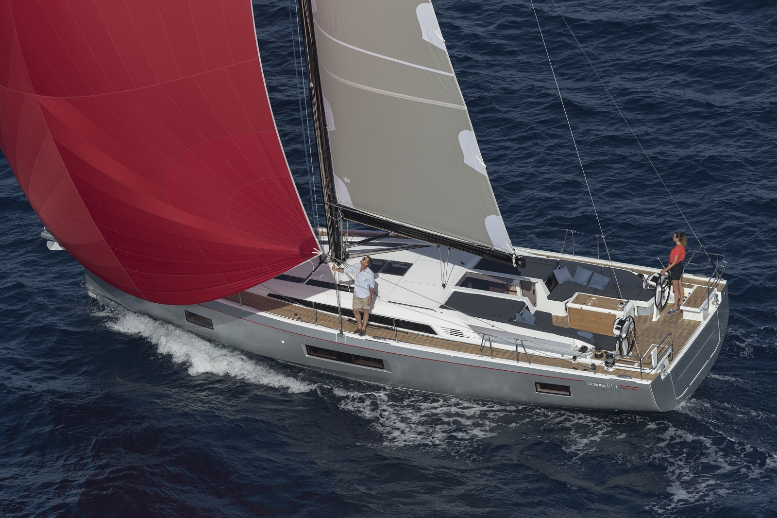 Oceanis 51.1 sailing