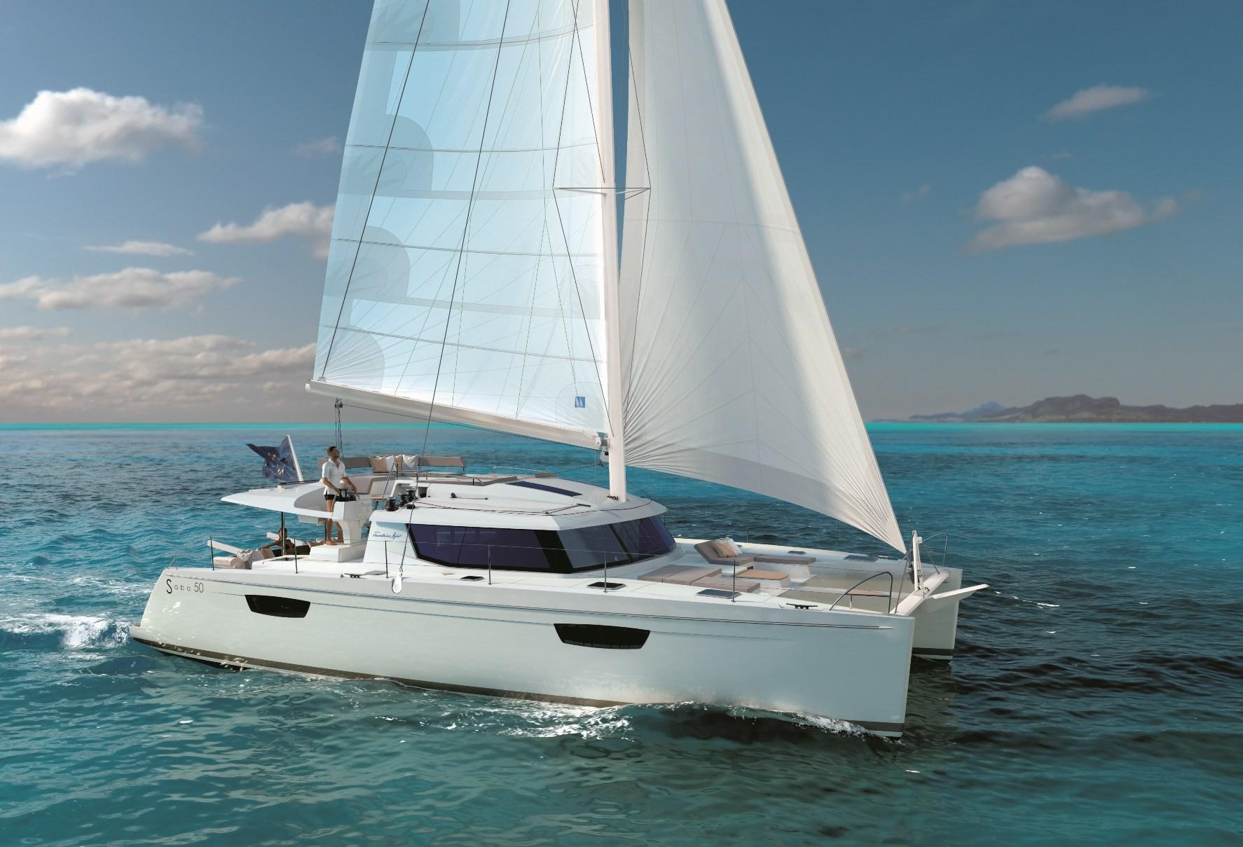 Saba 50 sailing in Malaysia