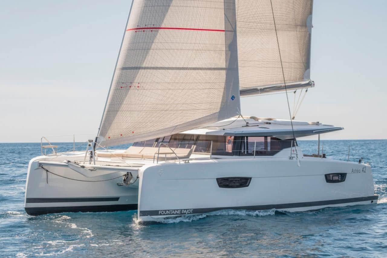 Astrea 42 sailing
