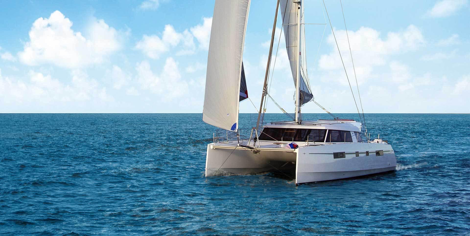 Nautitech Fly 46 sailing