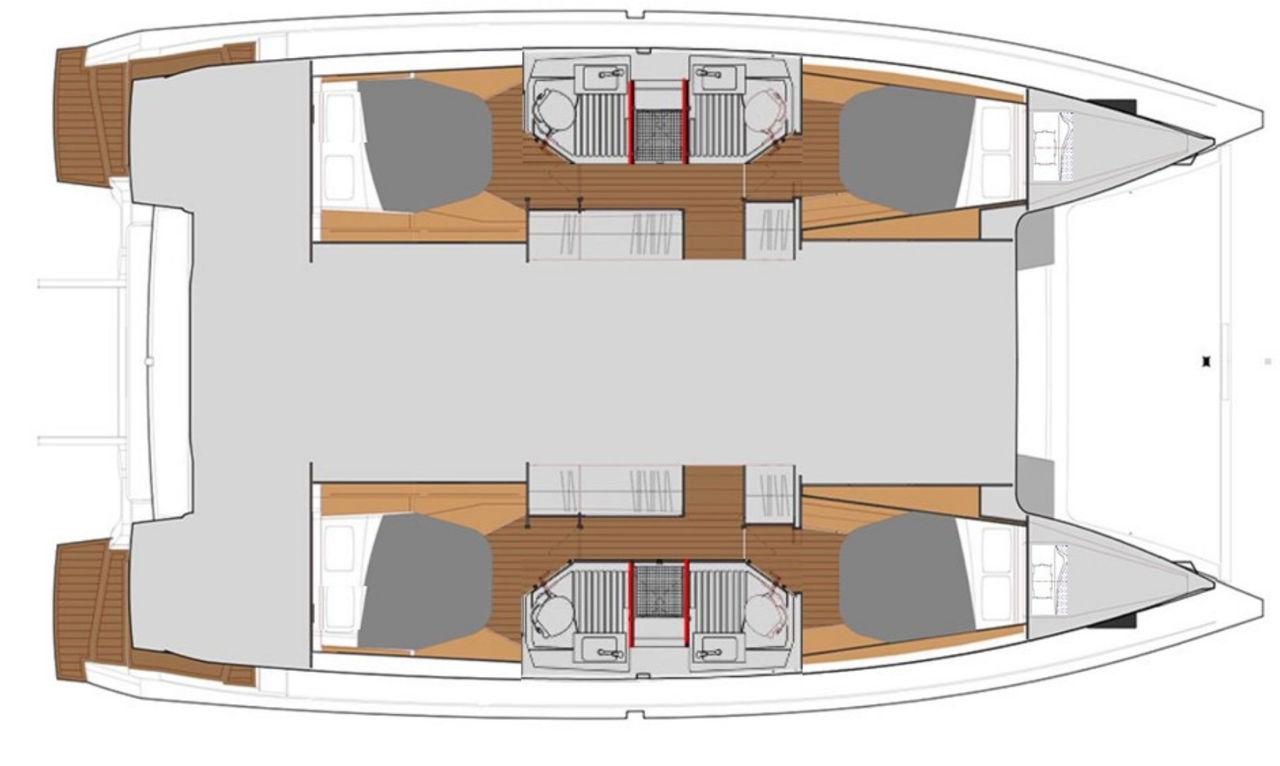 Astrea 42 layout