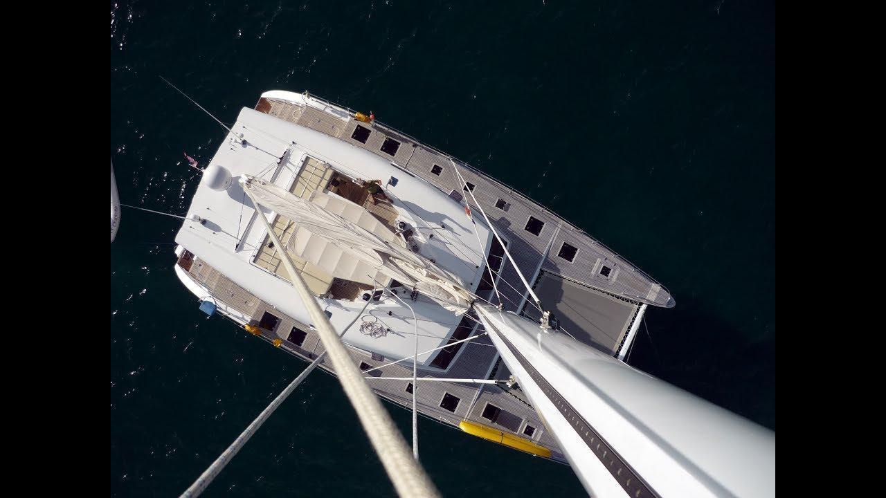 Sunreef 62 aerial