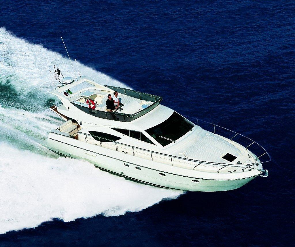 friends Ferretti 460 cruising
