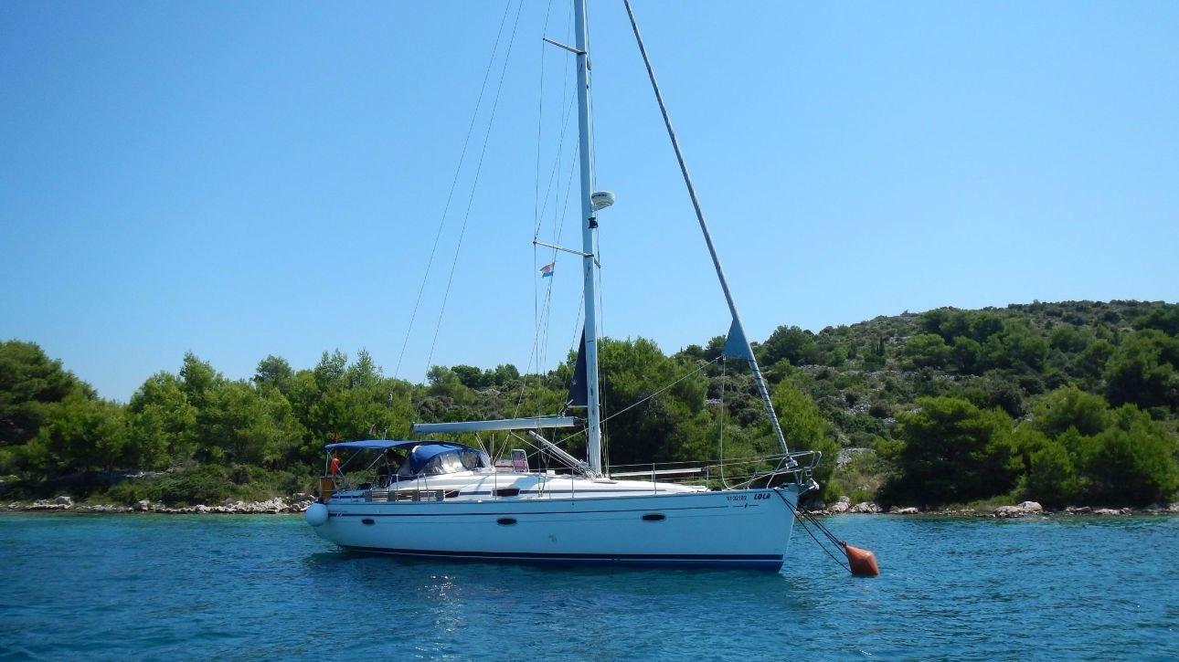 Bavaria 39 sailing off the coast of Croatia