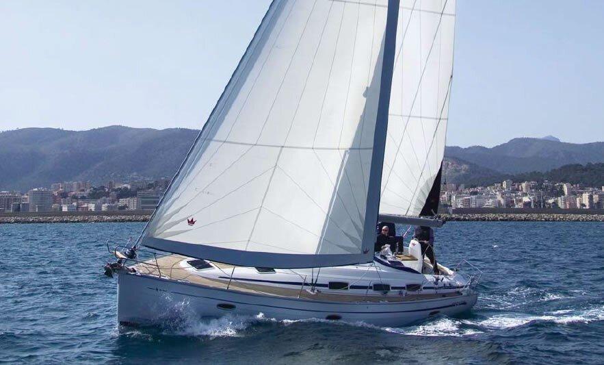 bavaria 39 sailing in Croatia