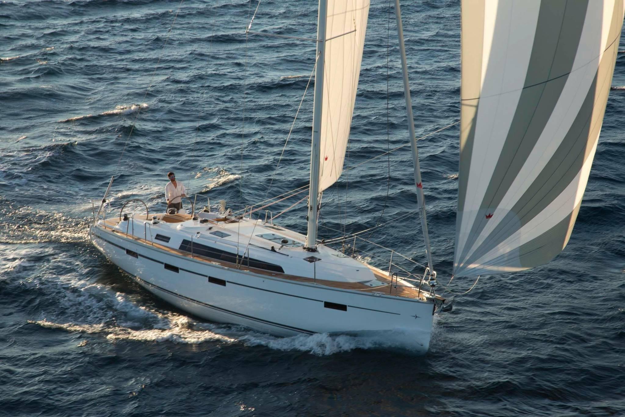 Bavaria 41 Cruiser sailing