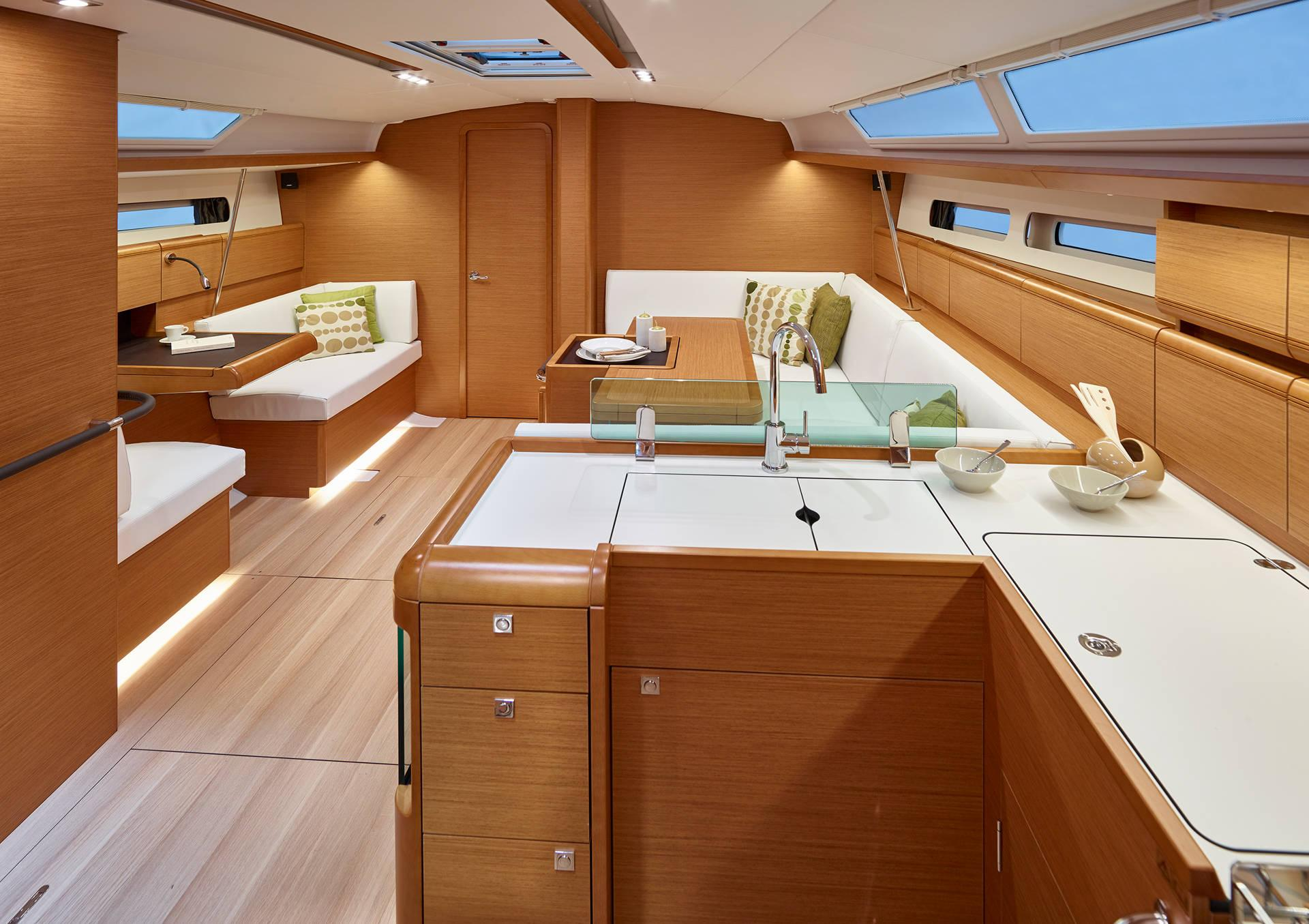 Sun Odyssey 449 interior