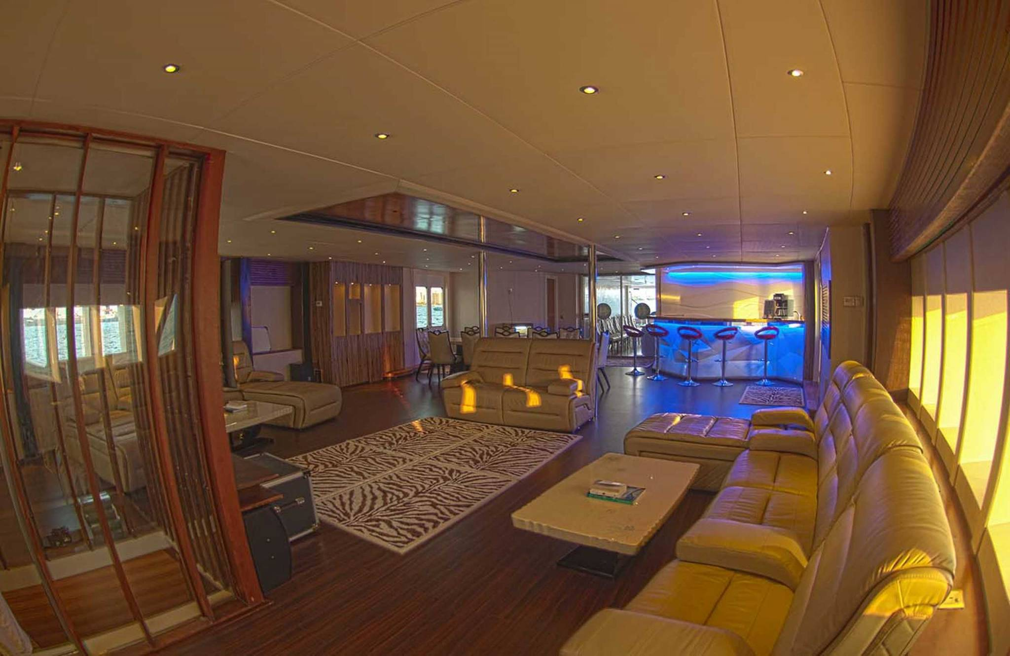 Honors Legacy yacht interior