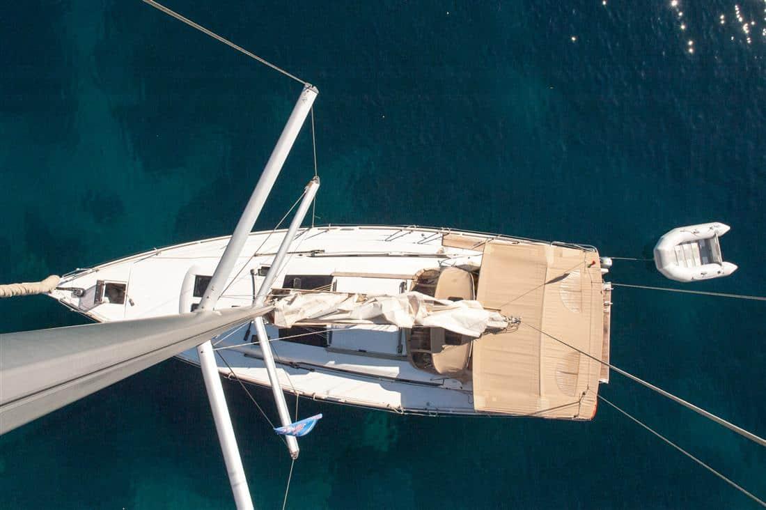 aerial Dufour 460 Grande Large