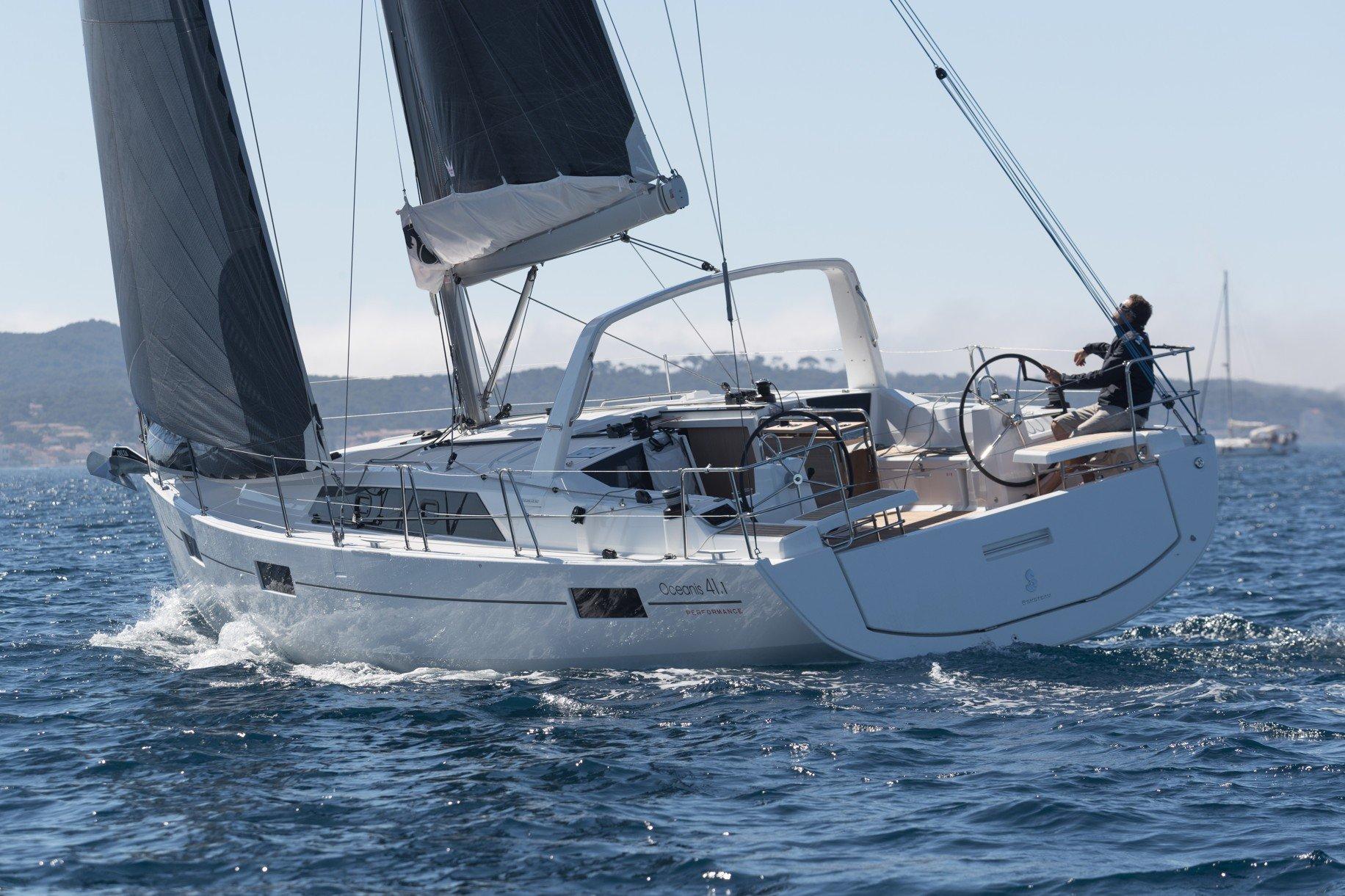 sailing the Beneteau Oceanis 41.1 in Croatia