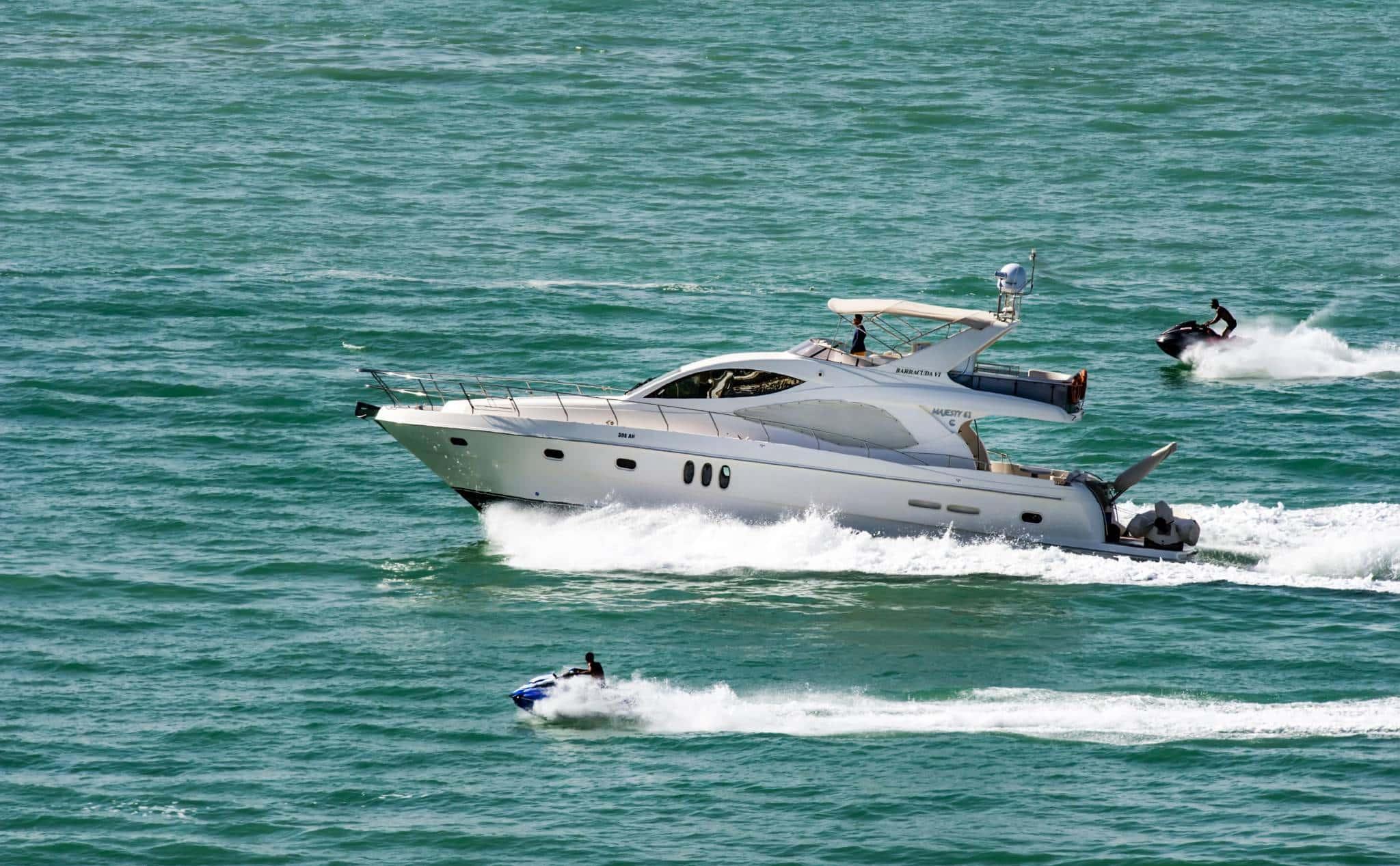 action boat jetski power boat leisure
