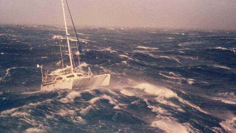 Are Catamarans Sable in Rough Seas?